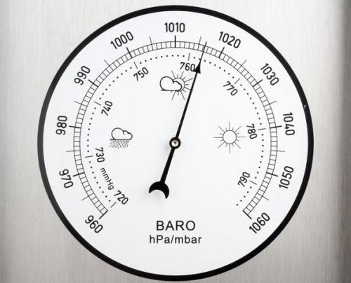 Для измерения атмосферного давления
